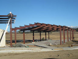 Metal Framework Construction